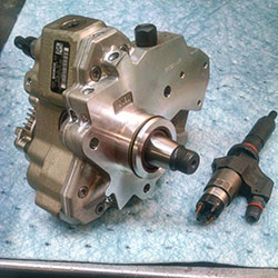 High Pressure Pump and Injector